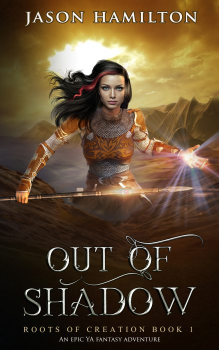 out of shadow ya fantasy book cover